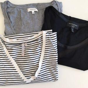 Medium t-shirt bundle {Babaton, Banana Republic}